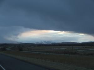 Montana storm