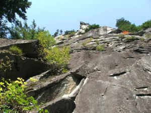 Morning Star climbing route