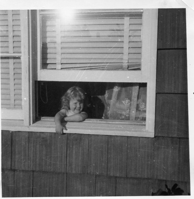 Window Lisa climbed out of