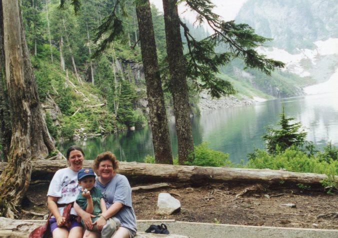 Beth, me, Arthur Lake Serene