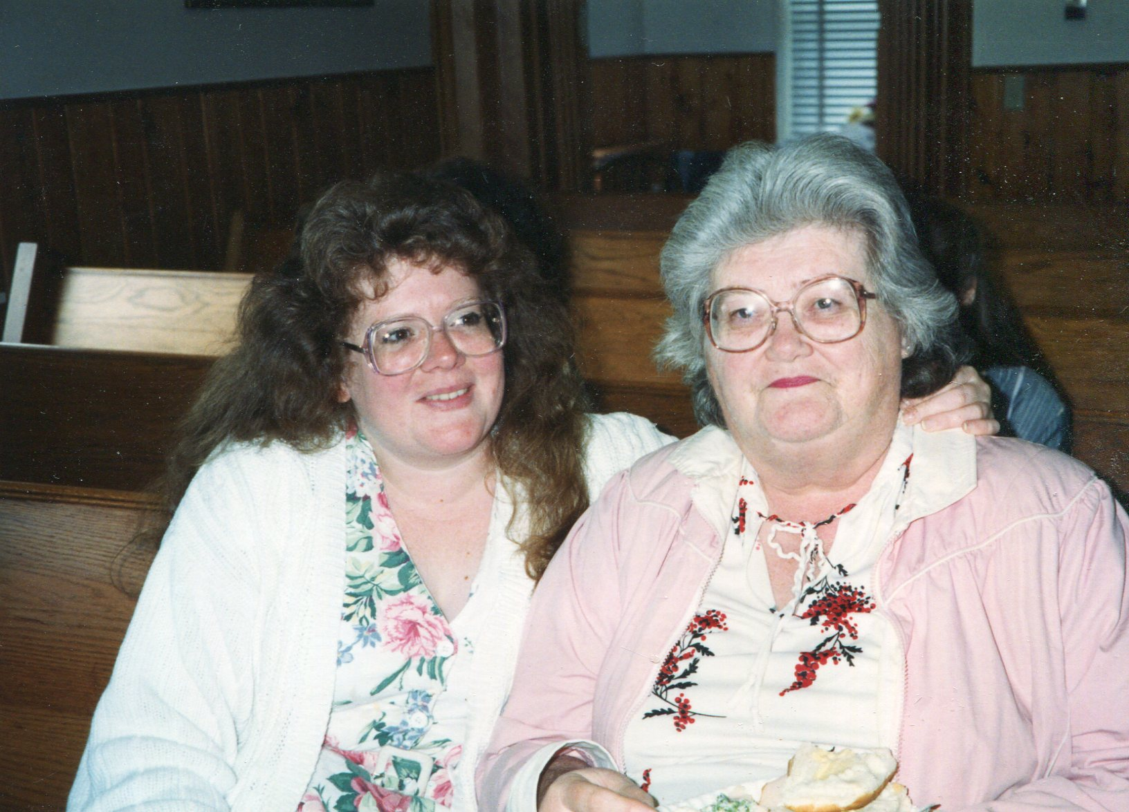 Lisa and mom 1994